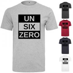 T-shirt UN SIX ZERO TRI Noir