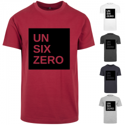T-Shirt UN SIX ZERO Reca Noir